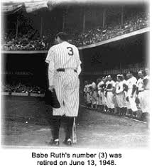 babe ruth babe ruth number 3