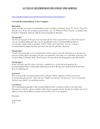 Nursing School Letter Of Recommendation Free Resumes Tips