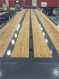 aluminum flooring for semi trailers galerie equipment hauler trailer wood deck installation
