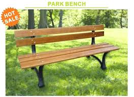 china real wood park bench with cast iron for outdoor furniture jm wood for outdoor furniture