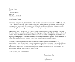 Cover Letter For Internal Position Sample Letters What Is A Job