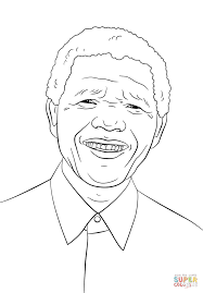 Small Picture Nelson Mandela coloring page Free Printable Coloring Pages
