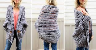 Crochet Oversized Sweater Pattern Mesmerizing Easy Chunky Crochet Sweater Free Pattern From Make Do Crew