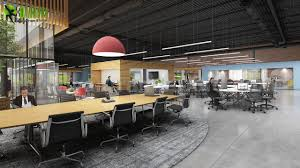 office design studio. How To Design Large Office Space, Walkthrough Animation By Yantram Architectural Studio