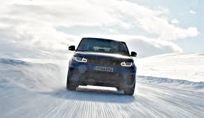 land rover ice city car