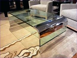 beveled glass coffee table granite acrylic dark wood square and chrome base black living room amazing