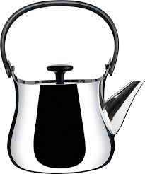 alessi cha kettleteapot in  stainless steel mirror