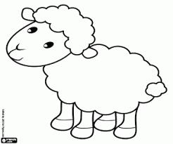 Kleurplaat Het Lammetje Van De Herders Kleurplaten