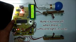 Advanced Automatic Room Light Controller With Visitor Counter With Ldr Buzzer