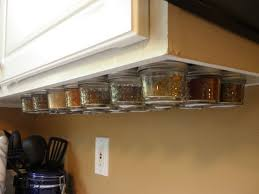 do it yourself under cabinet lighting. magnetic under cabinet spice rack do it yourself lighting