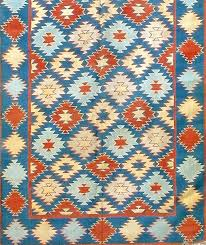 early century indigo blue rug for at rugs indian native american