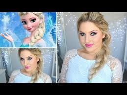 i decided to do an elsa inspired makeup look today keeping it very simple
