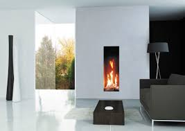 modern open fireplaces - Google Search