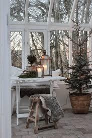 Vintage Weihnachten Nostalgie Skandinavisch Wintergarten