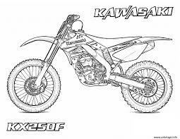 Coloriage Motocross 49 Dessin
