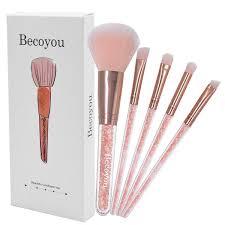 eyebrow brushes kit. becoyou 5pcs makeup brushes set professional face powder eye shadow eyebrow kit k