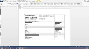 Forms For Word Word 100 Fillable Forms YouTube 7