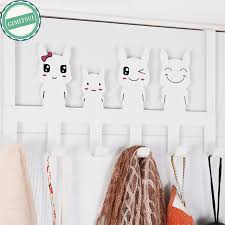 Door Hanging Coat Rack Cartoon Back Over Door Hanging Clothes Rack Hanger Coat Rack 50