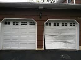 bent garage door panel arizona