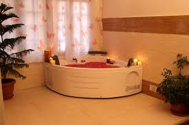 view jacuzzi in the wellness centre
