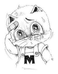 Immagini Stock Cartone Animato Da Gatto Per Agape Perché è Stato