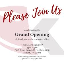 Office Opening Invite In 2019 Grand Opening Invitations
