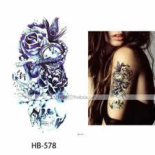 3 Pcs временные татуировки защита от влаги лучшее качество плечо