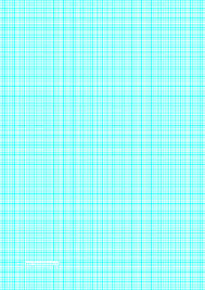 Printable Graph Paper With Lines Every 2mm 5 Lines Cm And Heavy