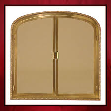 arched glass fireplace doors. Custom Fireplace Glass Door Arched Doors