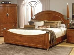 Bedroom Modern Wood Bedroom Sets King With White Bed And Wooden ...
