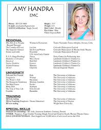 Resume Special Skills Unique Special Skills To Add Acting Resume In Template Based Letsdeliverco