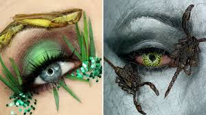 makeup artist using dead insects on her eyes goes viral allure png 1280x720 cute ble bee