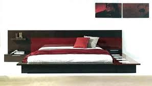 leather platform bed king size modern platform bedroom set king king size faux leather platform bed
