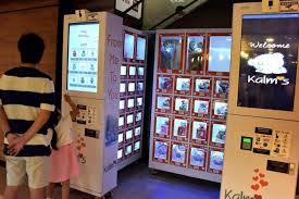 Flower Vending Machine For Sale Adorable Vending Is Trending And Buyers Are Spending Latest Singapore News