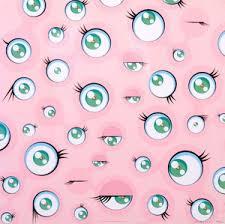 Download the background for free. Lot Art Takashi Murakami B 1962 Takashi Murakami Jellyfish Eyes Wallpaper