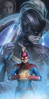 Captain Marvel Endgame Wallpapers ...