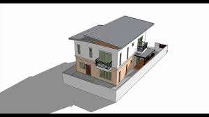 sketchup create 3d model house tutorial you draw a floor plan