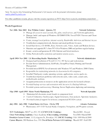 Cover Letter Computer Support Technician Resume Computer Network