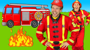 Firefighters Song for Kids - Fire Truck Song - Fire Trucks Rescue ...