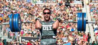 rich froning peting in the clean discipline at the crossfit games 2016