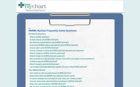 Nhrmc My Chart Login Faq Pages Website Inspiration And Examples Crayon