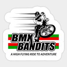 bmx bandits bmx autocollant