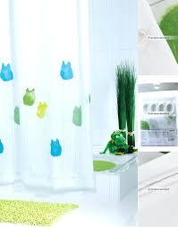 white shower curtain bathroom. Cute Kids Shower Curtains Bathroom Fun White Polyester Waterproof Frog Tile Ideas Uk Curtain