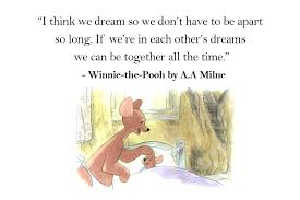 Winnie The Pooh Dream Quote