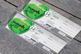 Print Cheap Custom Event Tickets Online 4over4 Com