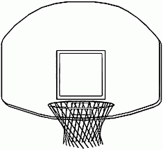 Basketball Hoop Coloring Pages - Printable Coloring Sheets
