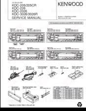 kenwood kdc 205 manuals kenwood kdc 205 service manual