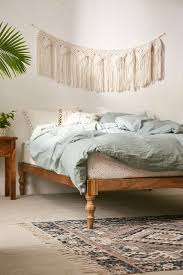 Bohemian Platform Bed from Urban Outfitters...a little on the ...