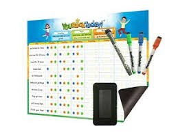 Details About Magnetic Dry Erase Behavior Star Reward Chore Chart One Multiple Kids Toddlers