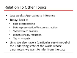 ppt pattern recognition and machine learning powerpoint  relation to other topics